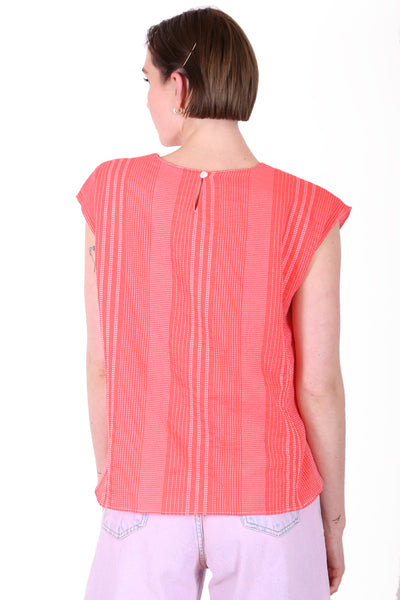 Brighton Cotton Tee Coral