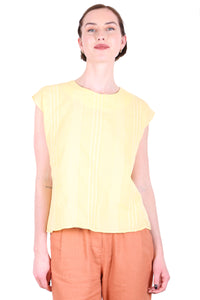 Brighton Cotton Tee Lemon