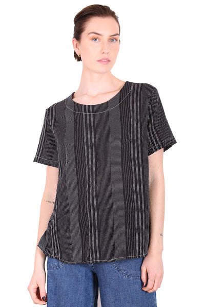 Brighton Cotton Top Black