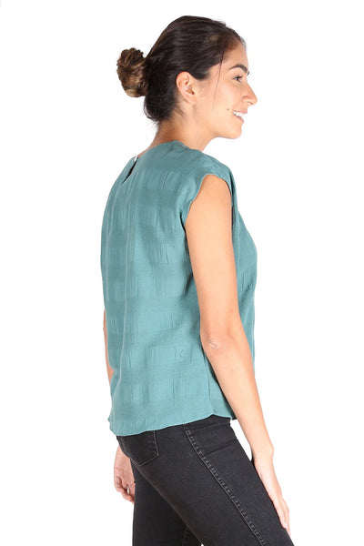 Cromwell Textured Tee Mint Green