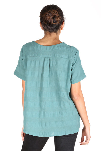 Cromwell Textured Top Mint Green