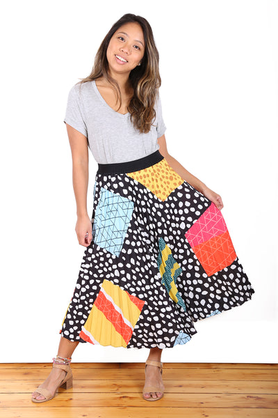 Carnival Pleat Skirt