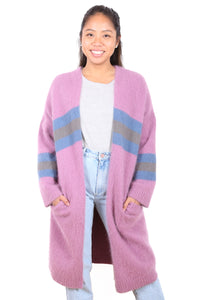 College Girl Cardigan Musk Pink