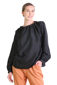 Da Vinci Blouse Black
