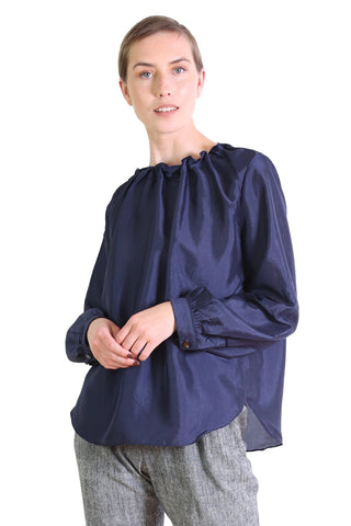 Da Vinci Blouse Royal Navy