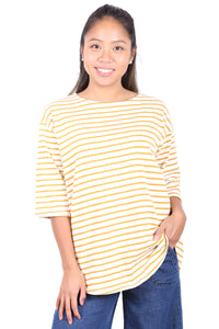 Dancing by the Seine Tee in Yellow