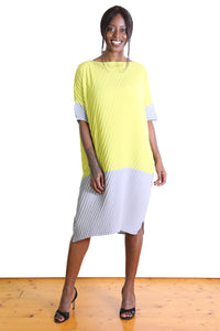 Departure Dress Yellow