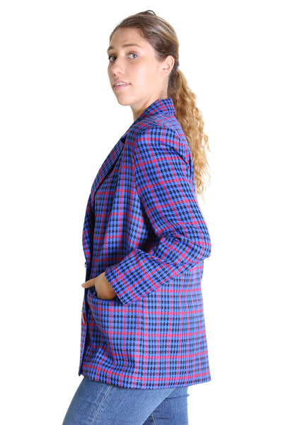 Evelyn Blazer Royal Blue