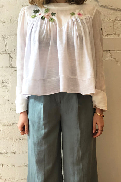 Harper Cotton Blouse
