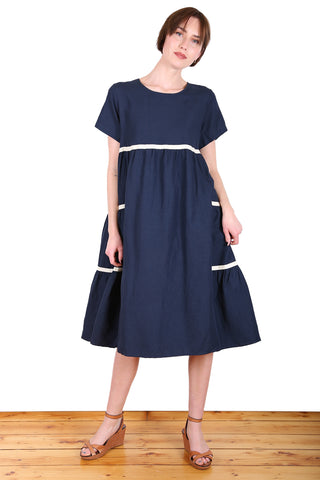 Fremantle Dress Navy