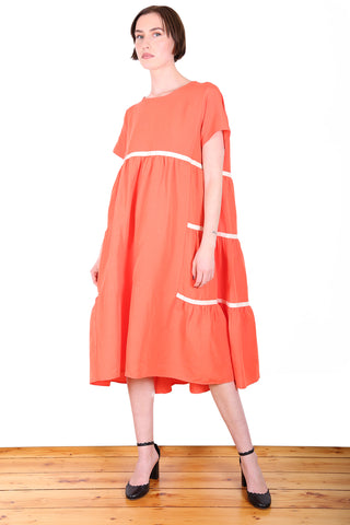 Fremantle Dress Orange