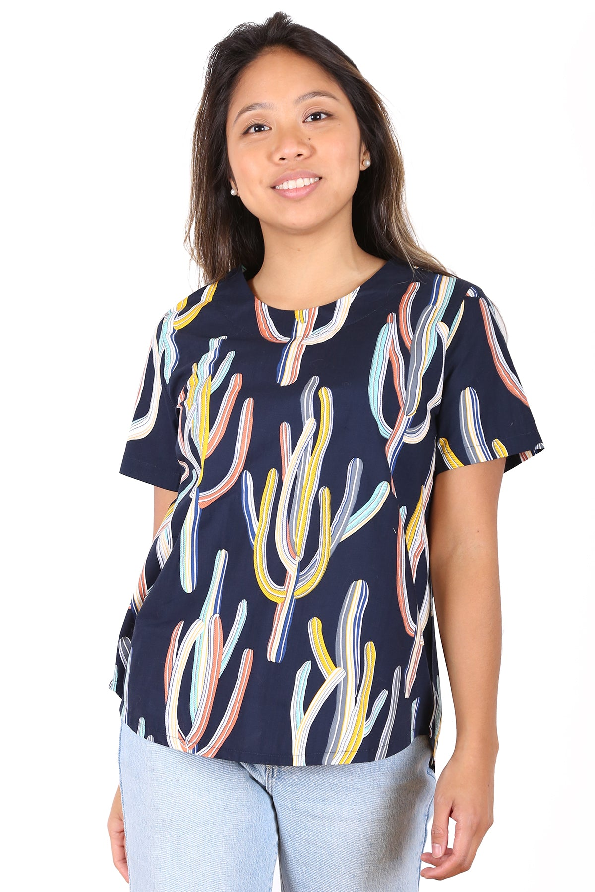 Go West Cotton Top Navy