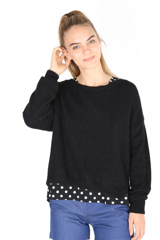 Halifax Sweater  Black