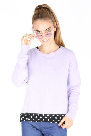 Halifax  Sweater Lilac