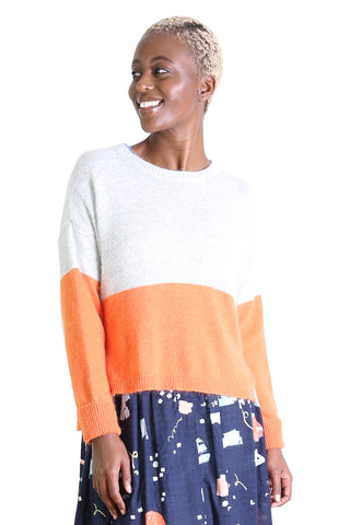 Halifax Sweater Top Deck Orange