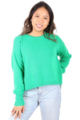 Halifax Sweater Bright Green