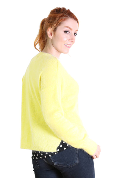 HALIFAX Sweater Bright Yellow