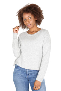 HALIFAX Sweater Silver Grey