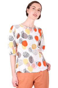 Hinchinbrook Seer Blouse Orange