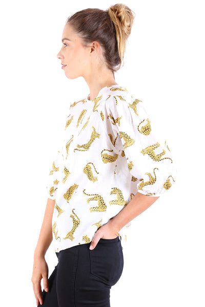 In The Jungle Seer Blouse