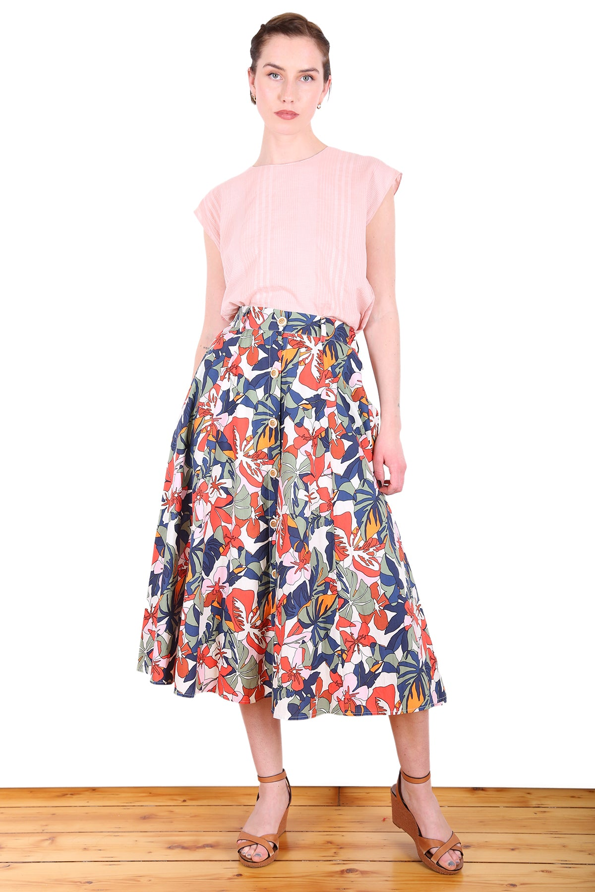 Kimberley Cotton Skirt