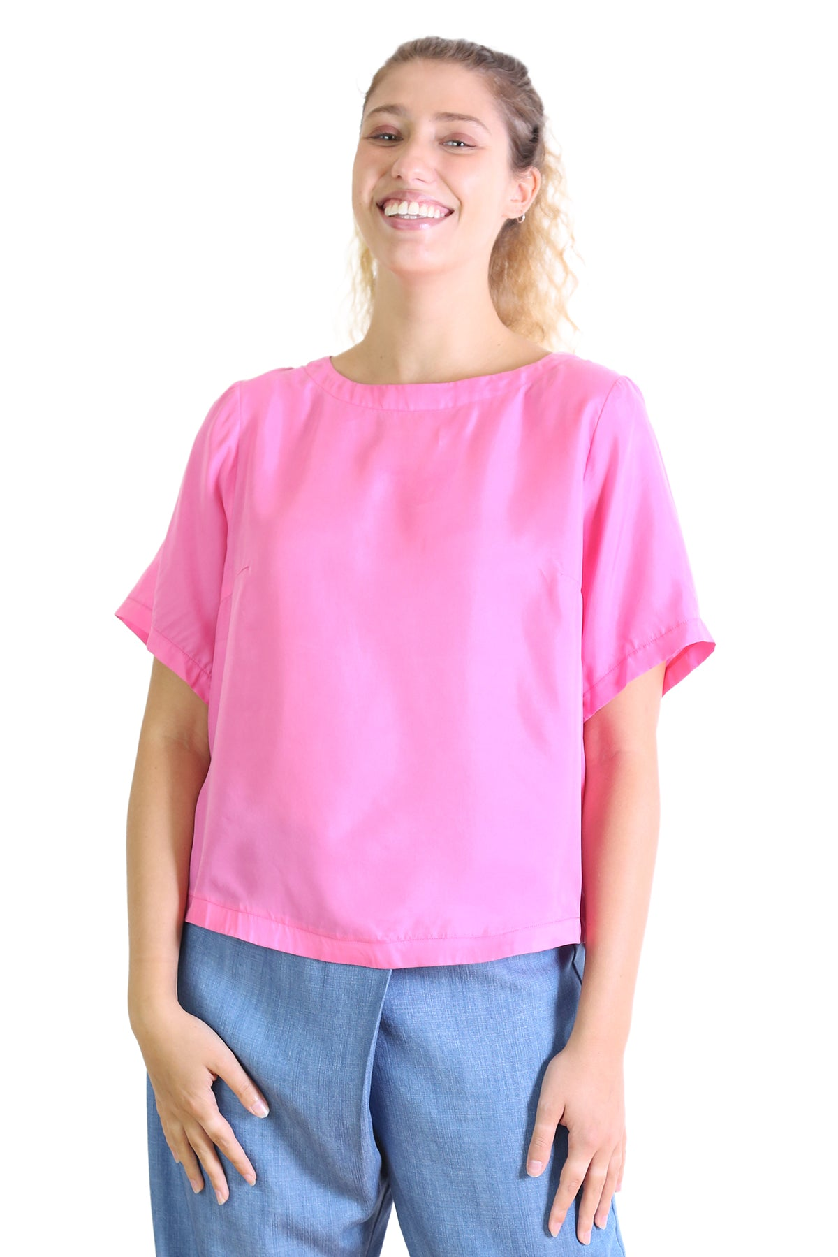 Kitty Top - Neon Pink