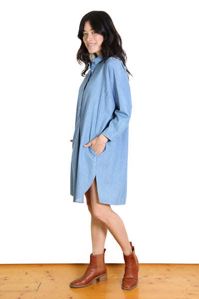 LA Classic Denim Dress