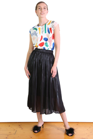 Lake Como Skirt Black