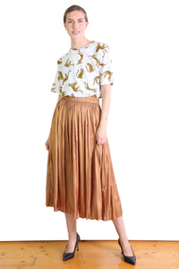 Lake Como Skirt Caramel