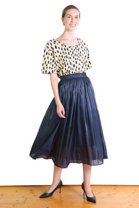 Lake Como Skirt Navy