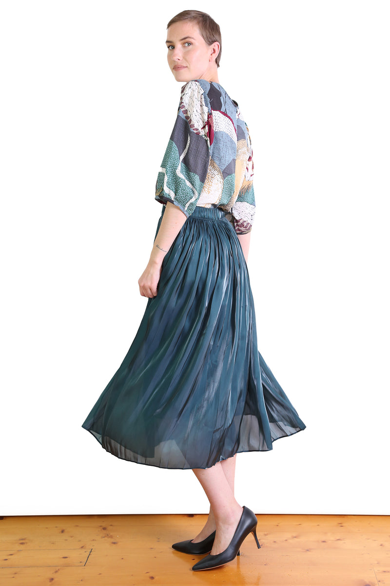 Lake Como Skirt Seaweed