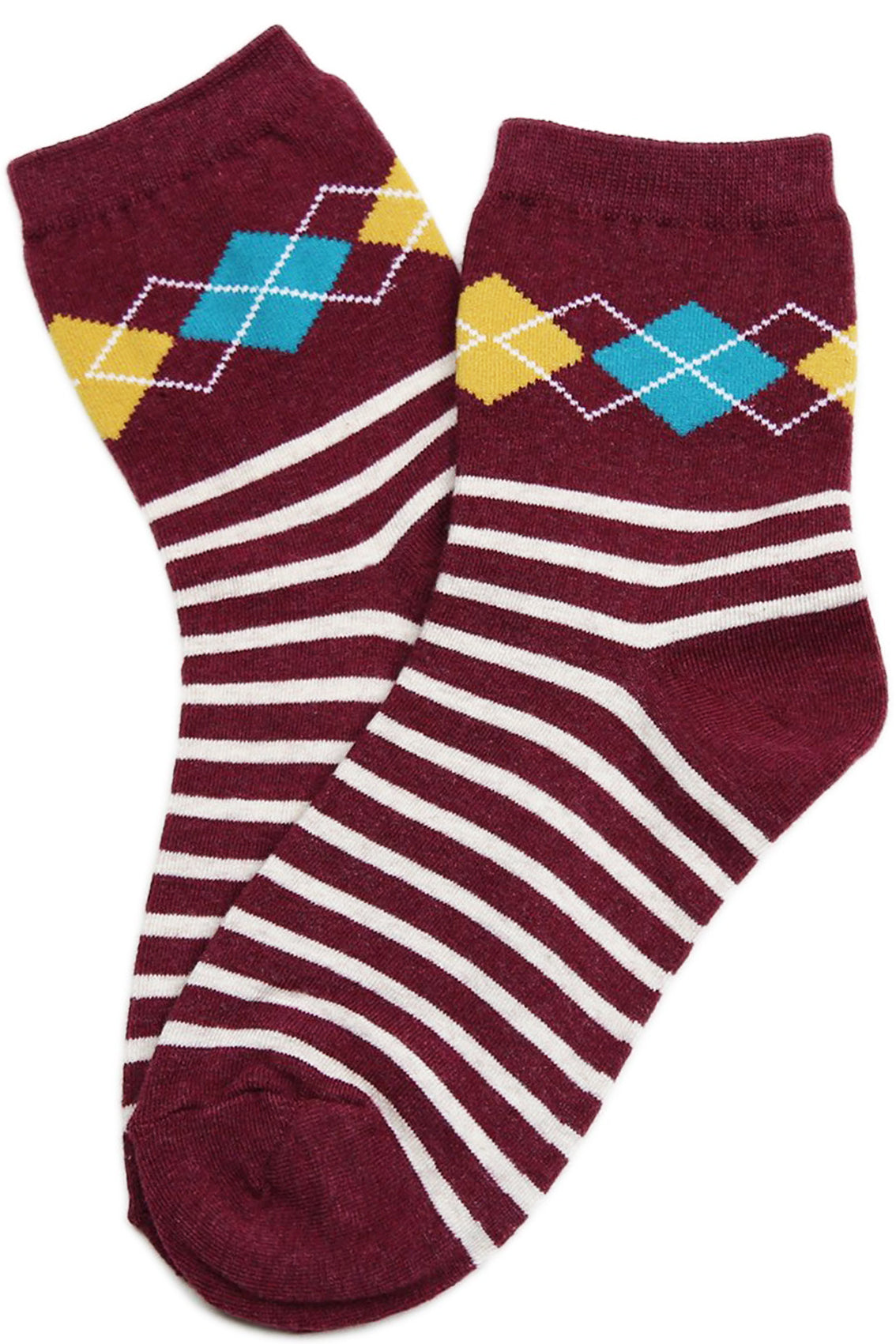 Dapper Cotton Socks Vino