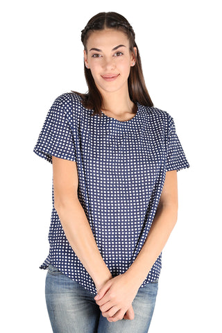 Manhattan Seer  Top Navy