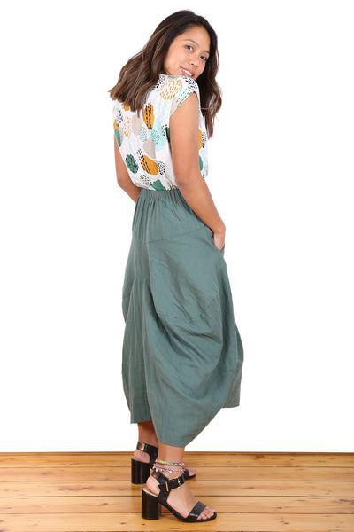 Milwaukee Bay Skirt Green
