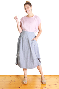 Milwaukee Skirt Light Grey