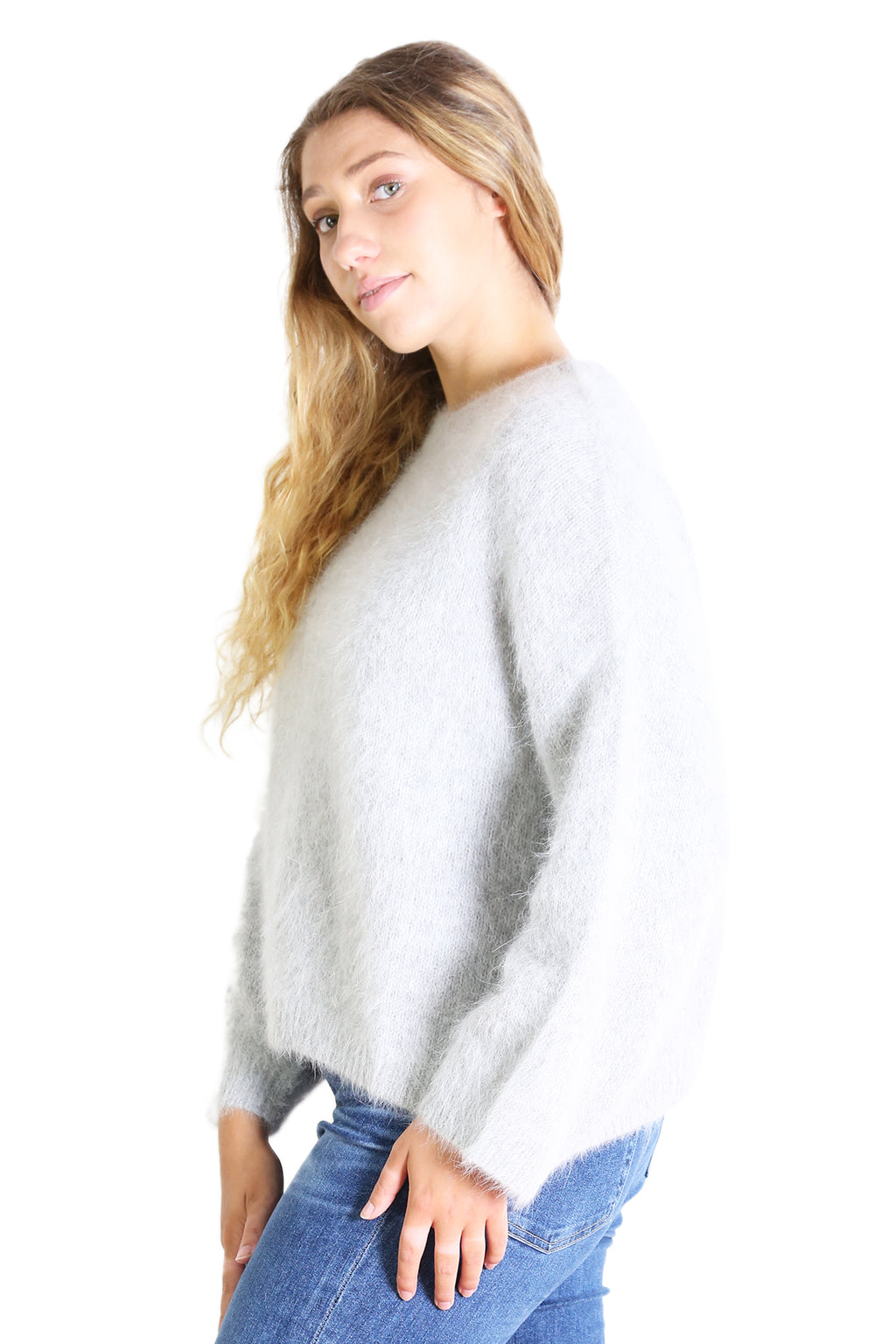 Montreal Angora Knit Silver