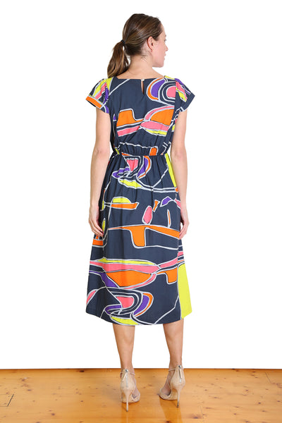 Nelle Harper Cotton Fitted Dress
