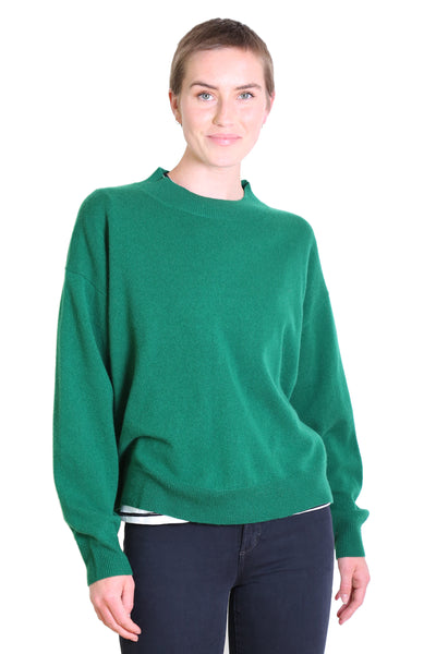 Parker Cashmere Sweater Emerald