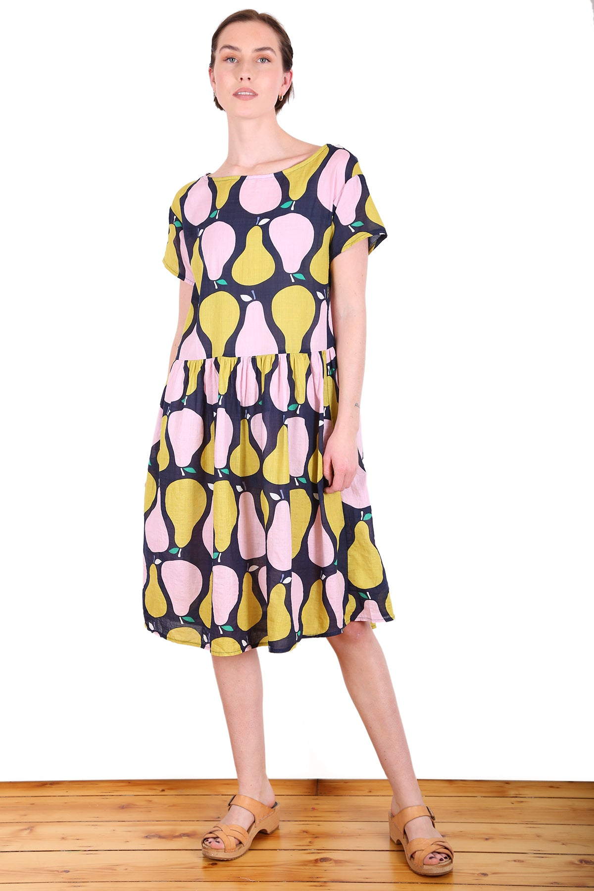 Pear Tree Seer  Dropwaist Dress