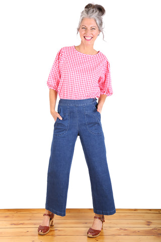Peggy Denim Jeans Blue