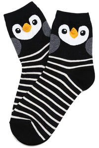 Penny Penguin Cotton Socks