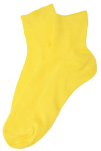 Rayon Thin Sock Yellow