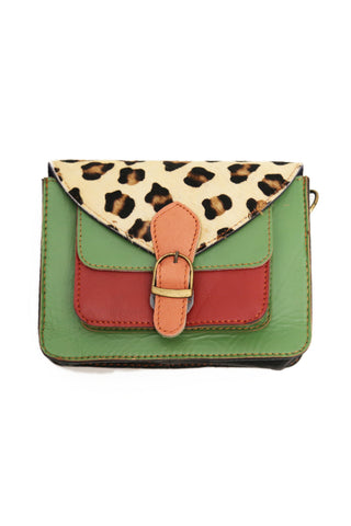 Saskia Satchel Bag Forest Green
