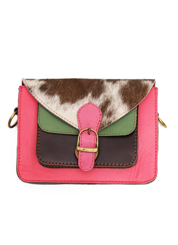 Saskia Satchel Bag Hot Pink
