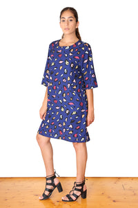 Savannah Shift Dress NAVY