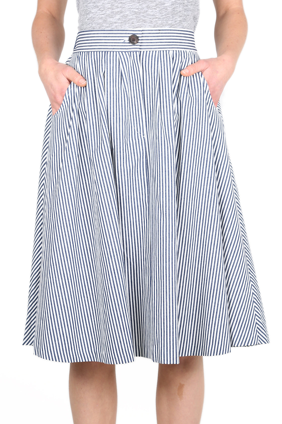 Sailor Stripes  Skirt