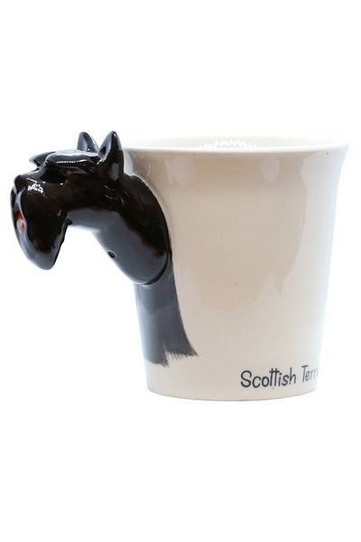 Scottish Terrier Cup Black