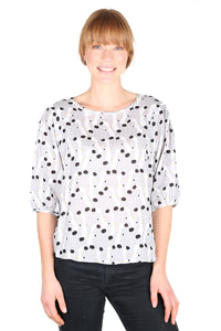 Swooping Seagulls  Seer Blouse