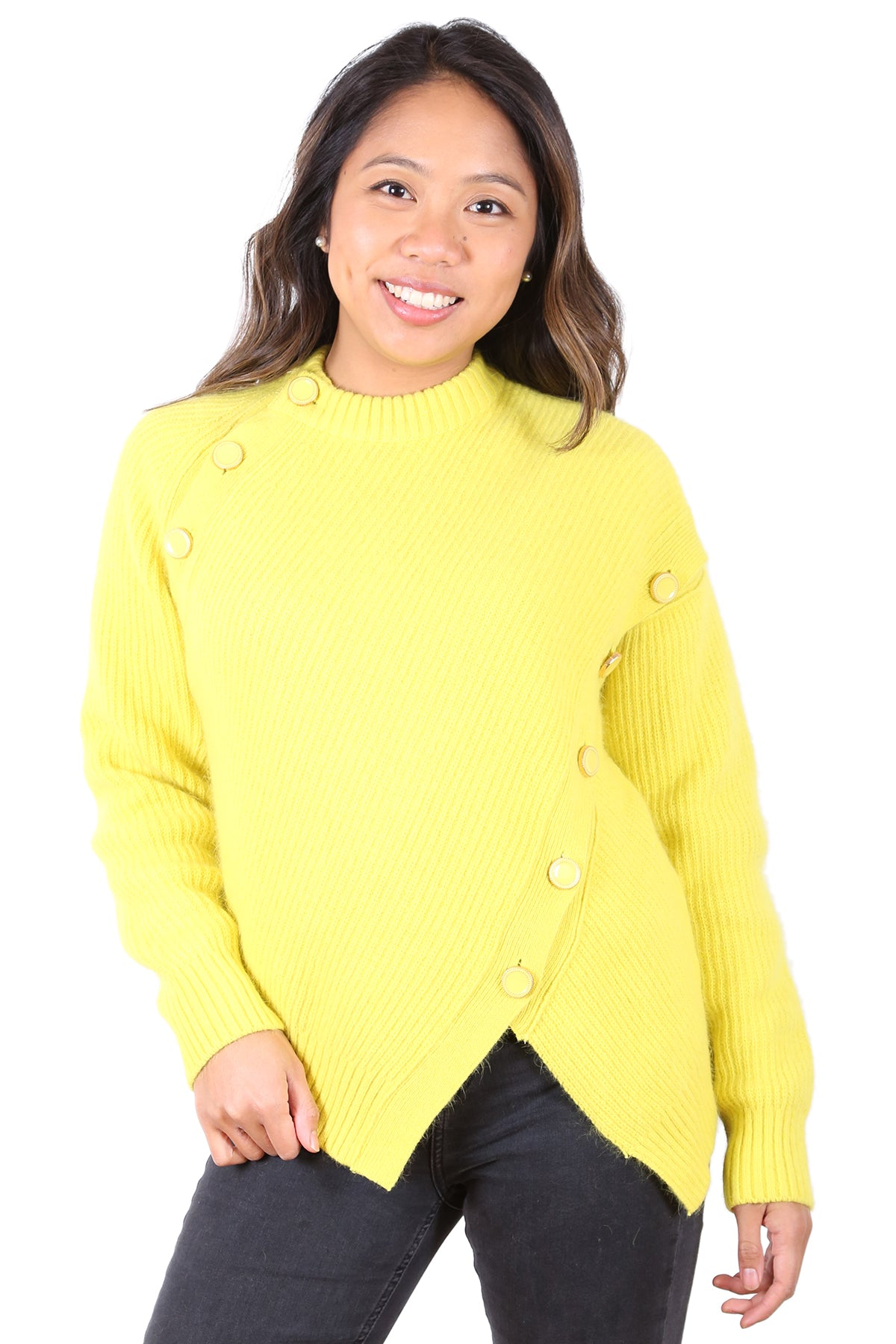 Serena Wool Jumper Yellow