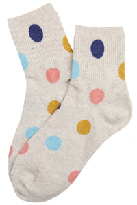 Pretty Spots Cotton Socks